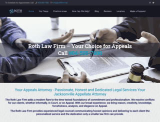 rothlawfirm.net screenshot