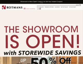 rotmans.com screenshot