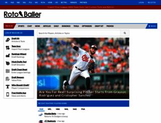 rotoballer.com screenshot