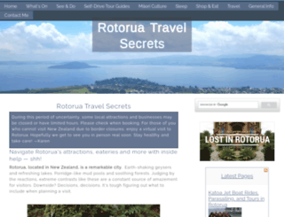 rotorua-travel-secrets.com screenshot