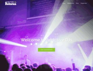 rotoruadjs.co.nz screenshot