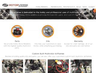 rotorverse.com screenshot