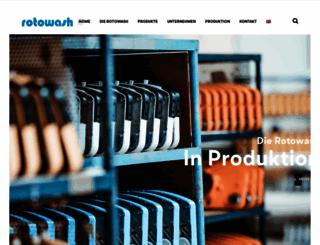 rotowash.at screenshot