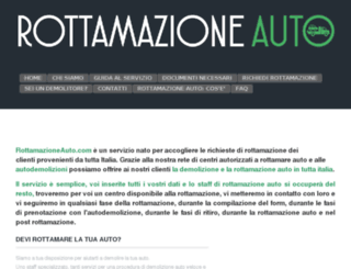 rottamazioneauto.it screenshot
