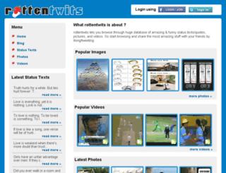rottentwits.com screenshot