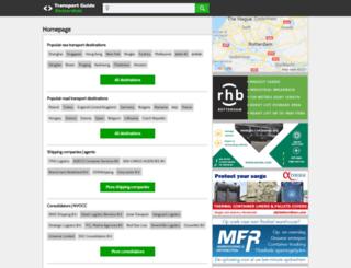 rotterdamportinfo.com screenshot