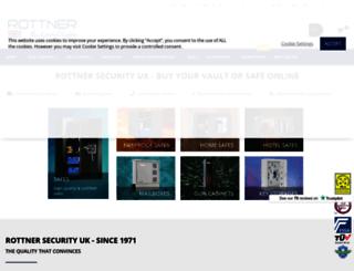 rottner-security.co.uk screenshot