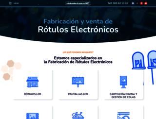 rotuloselectronicos.net screenshot