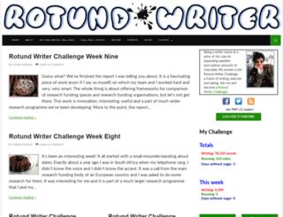 rotundwriter.com screenshot