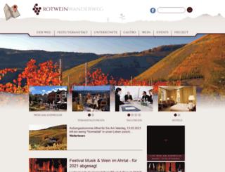 rotweinwanderweg.de screenshot