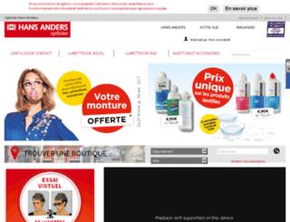 rouen.hansanders.fr screenshot