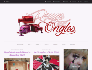 rouge-aux-ongles.fr screenshot