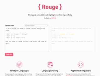 rouge.jneen.net screenshot