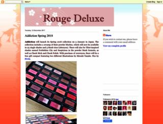 rougedeluxe.blogspot.com screenshot