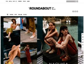 roundabout.co.kr screenshot