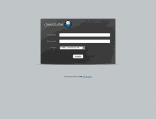 roundcube.weboscar.net screenshot