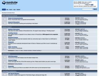 roundcubeforum.net screenshot