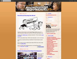 roundhouseroundup.blogspot.com screenshot