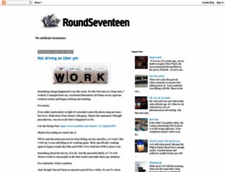 roundseventeen.blogspot.com screenshot