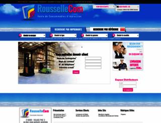 roussellecom.com screenshot