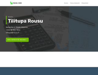 rousu.fi screenshot