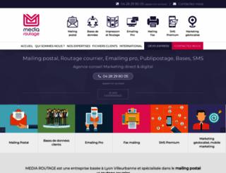 routages.com screenshot