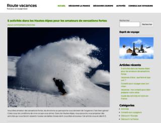 route-vacances.com screenshot