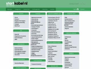 route.startkabel.nl screenshot