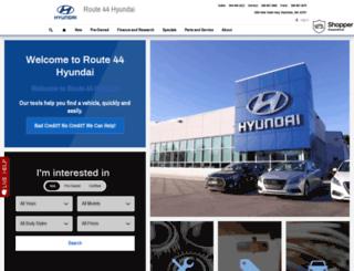 route44hyundai.com screenshot