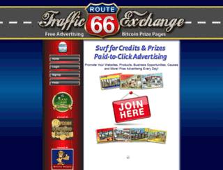 route66traffic.com screenshot