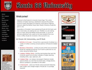 route66university.com screenshot