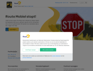 routemobiel.nl screenshot