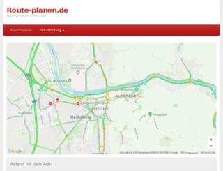 routenplaner-deutschland.org screenshot