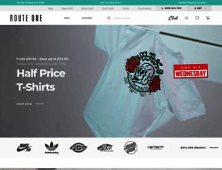 routeone.co.uk screenshot