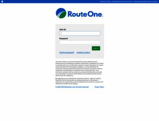 routeone.net screenshot