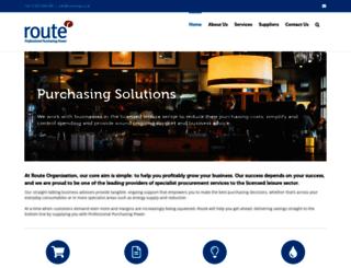 routeorg.co.uk screenshot