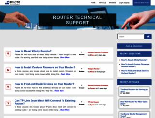 routertechnicalsupport.com screenshot