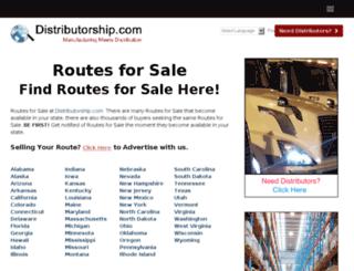 routesforsale.org screenshot