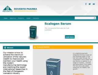 roventispharma.com screenshot