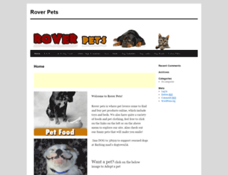 rover.co.za screenshot