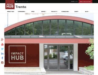 rovereto.the-hub.net screenshot