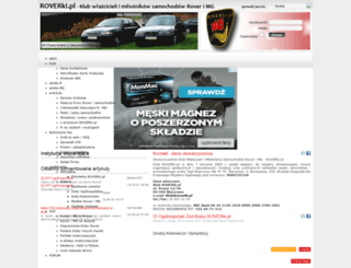 roverki.eu screenshot