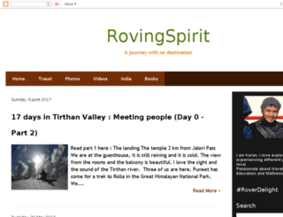 rovingspirit.com screenshot