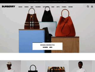 row.burberry.com screenshot