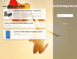 row18.justfirstrowsportal.com screenshot