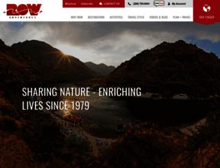 rowadventures.com screenshot