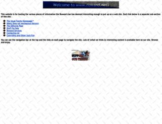 rowand.net screenshot