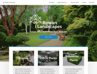 rowanlandscapes.co.uk screenshot