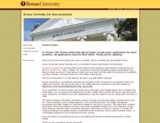 rowanuniversity.hodesiq.com screenshot