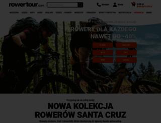rowertour.com screenshot